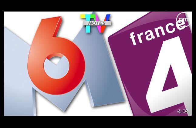 """M6 et France 4, chaînes préférées des Français selon la grande enquête """"TV Notes"""" 2012."""