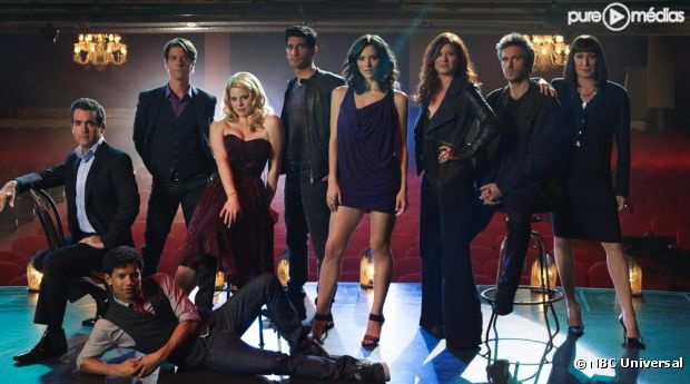 """Le cast de """"Smash"""" saison 1"""