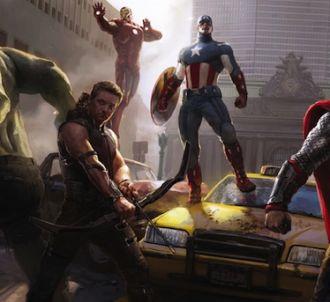 Les super-héros d'Avengers