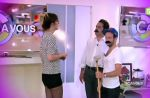 """Zapping : Daphné Bürki et l'équipe de """"C à vous"""" parodient les films érotiques"""