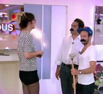 Daphné Burki et l'équipe de 'C à vous' parodient des...