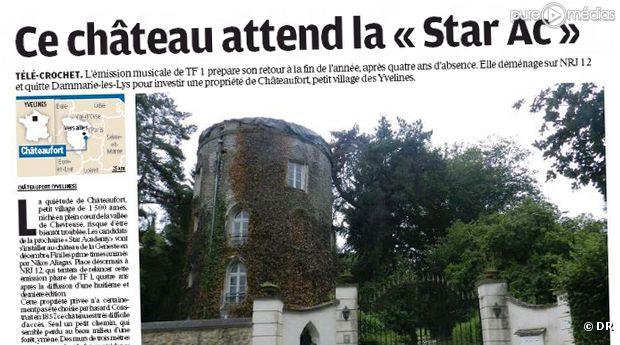 Le nouveau château de la Star Academy syr NRJ 12.