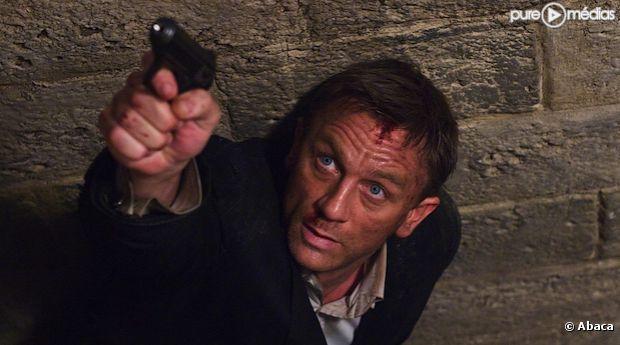 """Daniel Craig dans """"Quantum of Solace"""" (2008)"""