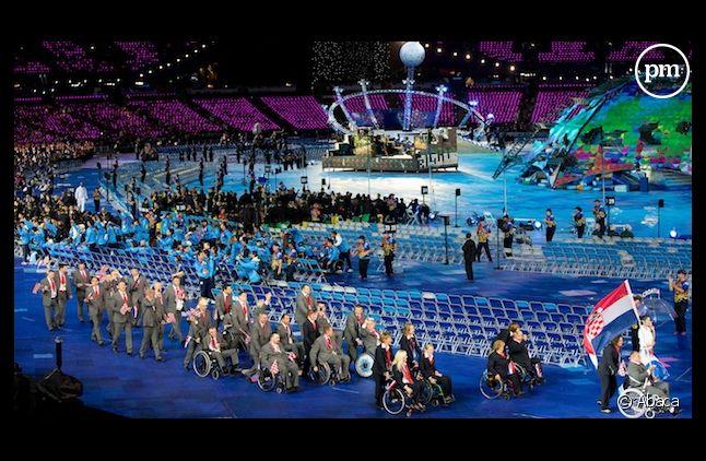 La cérémonie d'ouverture des Jeux Paralympiques de Londres 2012