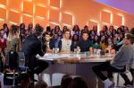 "Zapping : One Direction crée à nouveau l'hystérie au ""Grand Journal"""