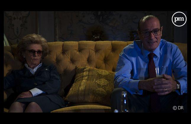 """En 2011, Bernard Le Coq joue le rôle de Jacques Chirac dans """"La Conquête""""."""