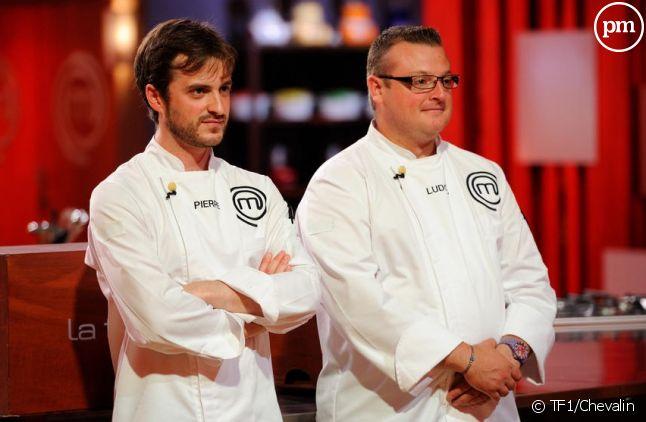 """Pierre et Ludovic, finalistes de """"Masterchef"""" 2012"""
