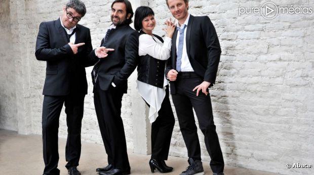 Olivier Bas, André Manoukian, Maurane et Sinclair