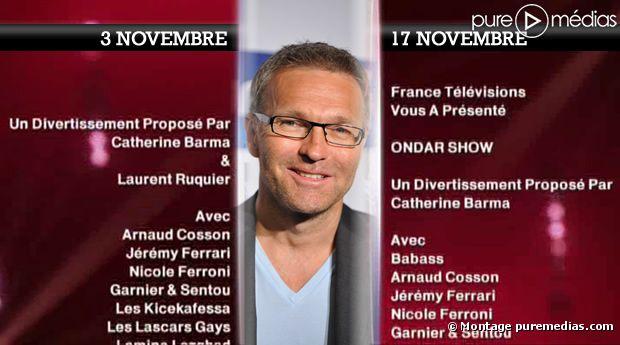 """Laurent Ruquier a disparu du générique du """"Ondar Show"""""""