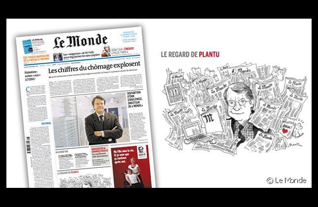 """La Une du """"Monde"""" datée du 29 novembre 2012"""