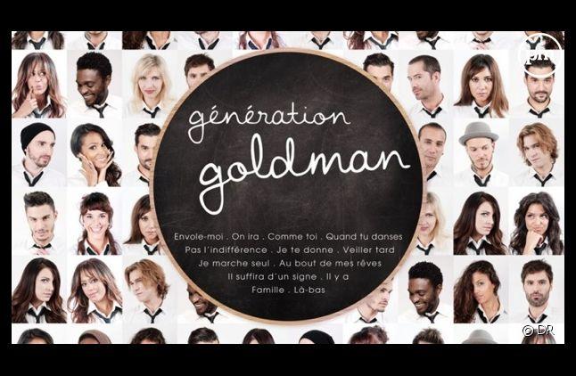 """La pochette de l'album """"Génération Goldman"""""""
