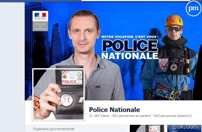 """A l'heure où nous écrivons ces lignes, près de 22.000 profils Facebook """"aiment"""" la Police Nationale."""