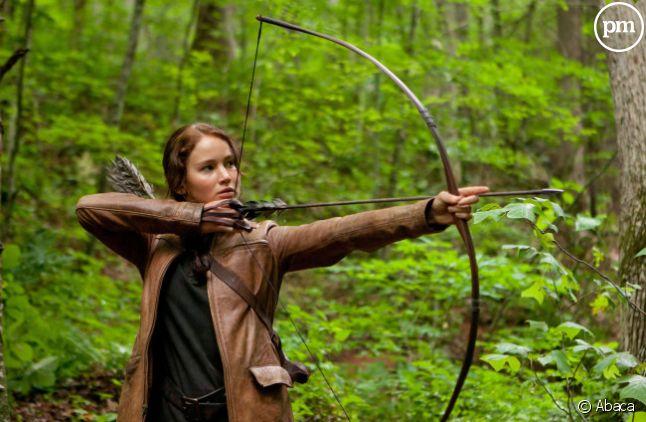 """Voilà le genre de scènes présente dans """"Hunger Games"""" qu'on ne risque pas de voir dans la télé-réalité """"The Hunt""""."""