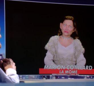 Marion Cotillard fait son entrée aux 'Guignols de L'info'