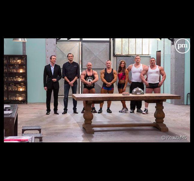 """Les culturistes s'invitent dans """"Top Chef"""" 2013 épisode 5"""