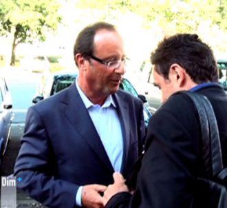 Dans 'Dimanche +', Edwy Plenel et François Hollande se...