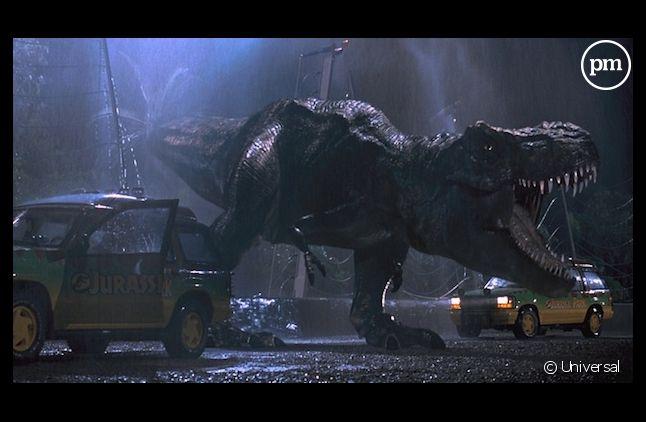 """""""Jurassic Park 3D"""" signe un joli démarrage au box-office US"""