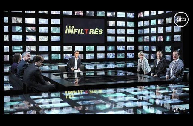 """""""Les infiltrés"""". Image d'archives"""