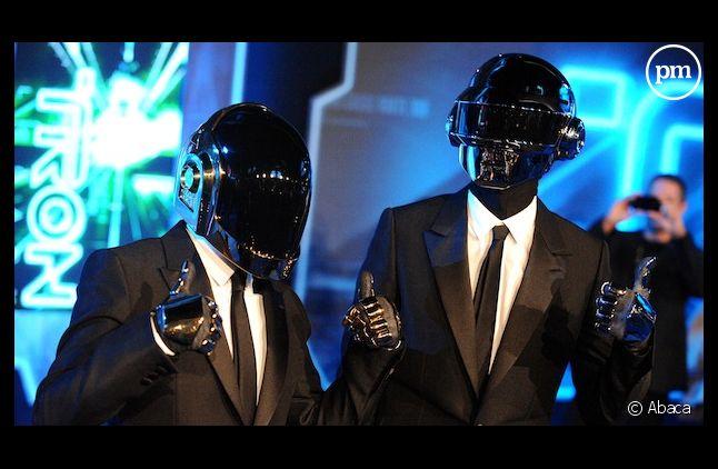 """""""Get Lucky"""", le nouveau single de Daft Punk, réalise un excellent démarrage au top singles"""