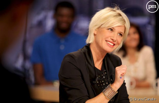 """Maitena Biraben présente """"Le Supplément"""" chaque week-end sur Canal+."""