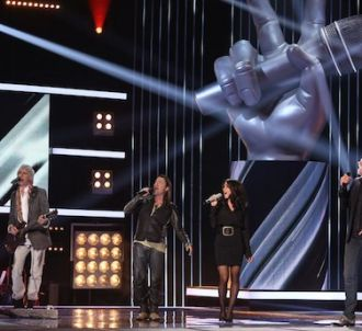 Pour Jenifer, les quatre coachs de 'The Voice, la plus...