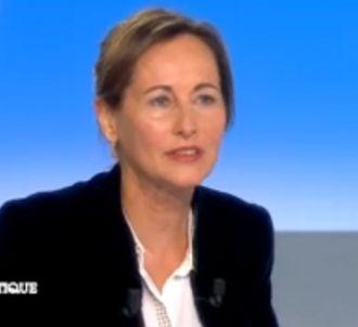 Ségolène Royal sur le plateau de 'C politique' hier
