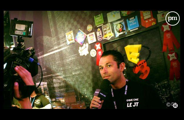 Julien Tellouck, animateur sur Game One.