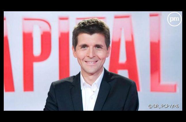 """Ce soir, Thomas Sotto reçoit François Hollande dans """"Capital""""."""