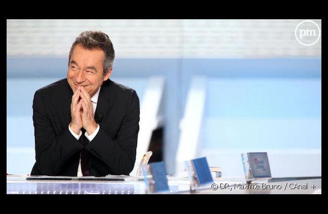 "<span>Après 9 ans au ""Grand Journal"", Michel Denisot va diriger le mensuel ""Vanity Fair"".</span>"