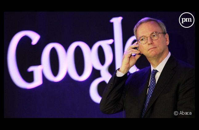 Eric Schmidt, Président exécutif de Google