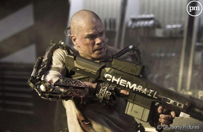 """Matt Damon dans """"Elysium"""""""