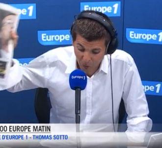 Le premiers pas de Thomas Sotto sur Europe 1.