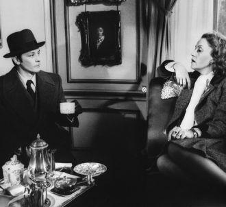 Alain Delon et Jeanne Moreau dans 'Monsieur Klein' en 1976