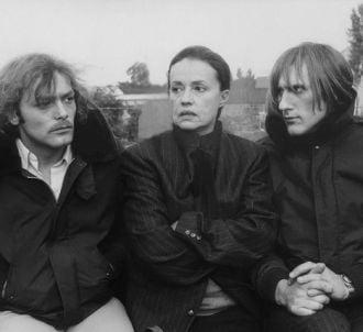 Jeanne Moreau entourée de Patrick Dewaere et Gérard...