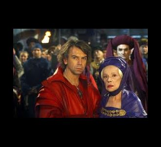 Jeanne Moreau et Philippe Torreton dans 'Les Rois...