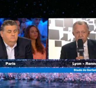 Échange tendu entre Jean-Michel Aulas et Pierre Ménès...