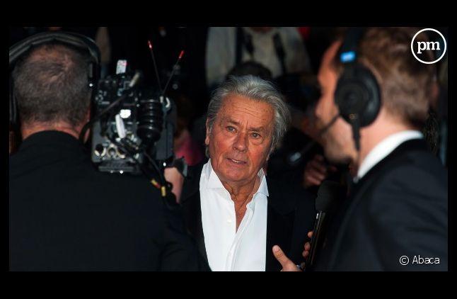Alain Delon à Cannes, en mai 2013.