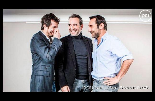 Jean Dujardin, Guillaume Canet et Gilles Lellouche de retour sur Canal+ le 20 décembre.