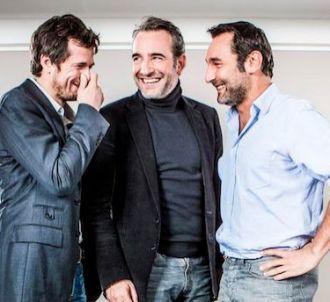 Jean Dujardin, Guillaume Canet et Gilles Lellouche de...