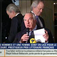 i-TELE rate l'annonce en direct du prix Goncourt