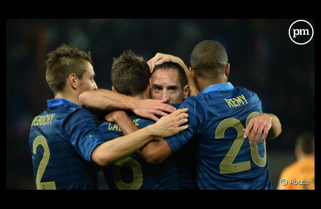 <span>En octobre, l'écrasante victoire de l'équipe de France sur l'Australie (6-0) a rassuré TF1<span> </span></span>