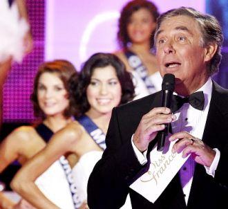 Jean-Pierre Foucault lors de l'élection de Miss France 2011