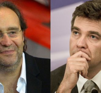 Xavier Niel, patron de Free et Arnaud Montebourg,...