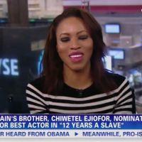 Oscars : La soeur de Chiwetel Ejiofor en larmes sur CNN après la nomination de son frère
