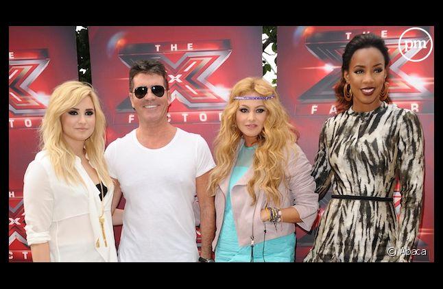"""Le jury du """"X Factor"""" américain en 2013"""