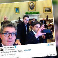 Selfie à la Maison Blanche : Le journaliste du Monde assume