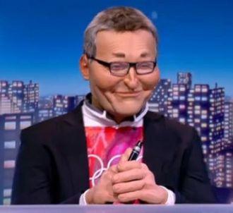 Laurent Ruquier dans 'Les Guignols de l'info' sur Canal+