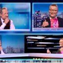 """Laurent Ruquier dans """"Les Guignols de l'info"""" sur Canal+"""