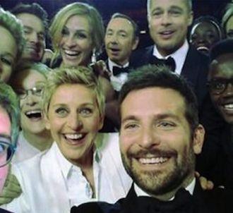 La selfie avec le journaliste du Monde Thomas Wieder