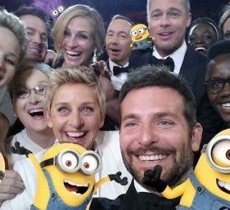 Le selfie avec les 'minions' du film 'Moi, moche et...